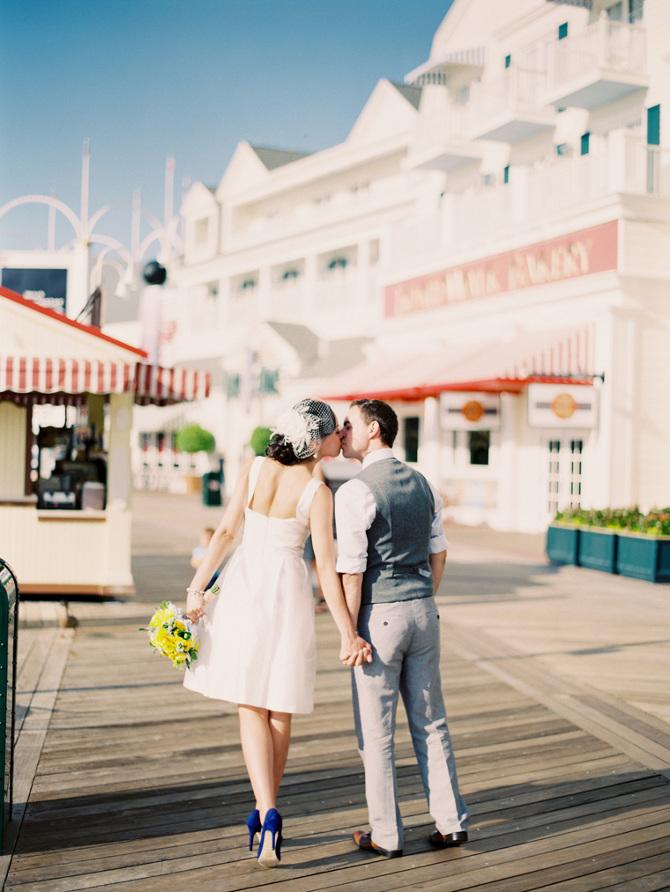 Disney Wedding Chapel Seabreeze Point On Disneys Boardwalk